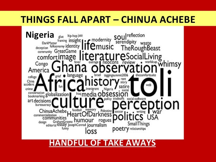 a summary of things fall apart a novel by chinua achebe Of things fall apart by chinua achebe things fall apart is a 1958  things fall apart summary chinua achebe  things fall apart was his debut novel,.