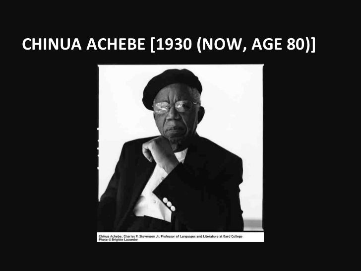 things fall apart by chinu achebe Achebe has said that it was his indignation at this latter novel that inspired the writing of things fall apart try to see in what ways his novel answers cary's try to see in what ways his novel answers cary's.