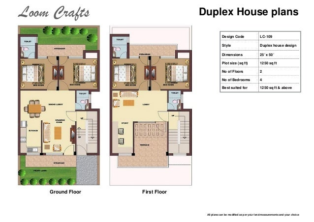 Best 30 By 40 Duplex House Plans Images - 3D house designs - veerle.us