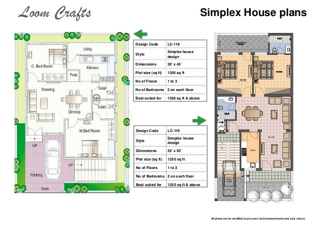 40 x 45 house plans india