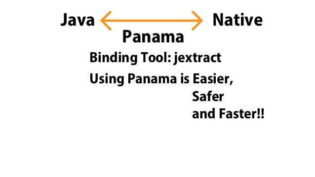 NativeJava Panama Binding Tool: jextract Using Panama is Easier, Safer and Faster!!