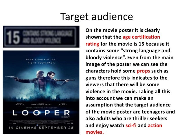 7 Target Audience On The Movie Poster