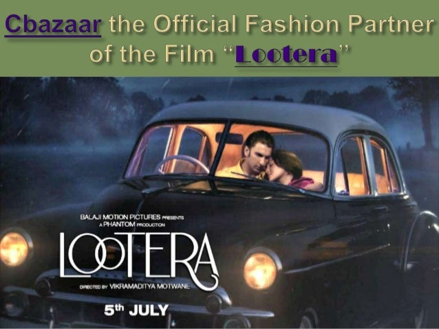 Lootera Lootera is an upcoming Bollywood period romance drama film directed by Vikramaditya Motwane. It is the second film...