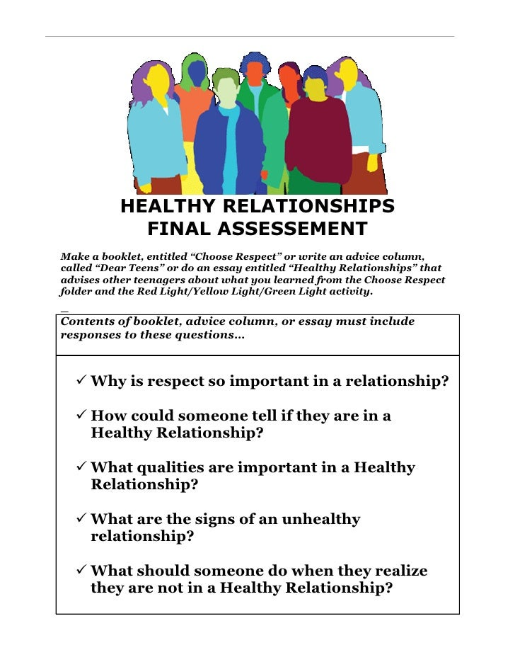 expository essay healthy relationships