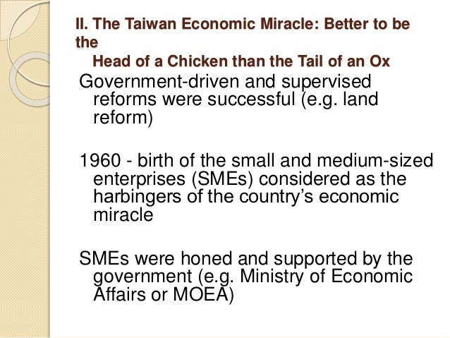 taiwans economic miracle S c tsiang, an emeritus professor of economics at cornell university and a  principal architect of taiwan's economic miracle died on oct 21 in.