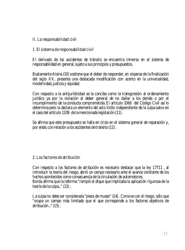 Lopez Cabana Roberto Responsabilidad Civil Por Accidentes