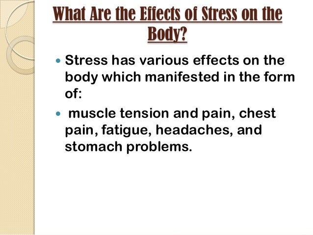 stress and nursing essay