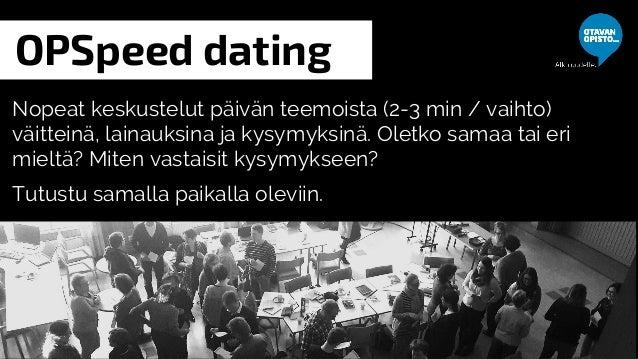 Nopeus dating Tukholma 2014