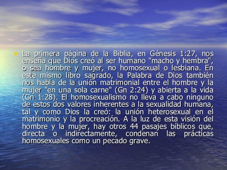 Que dice la biblia sobre la homosexualidad pics 64