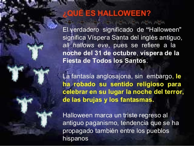 Lo que todo cristiano debe saber de halloween 01