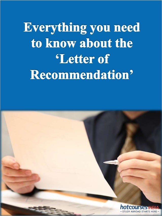 The Ultimate Guide To Getting The Perfect Letter Of Recommendation