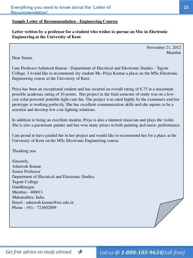 professor forgot to write letter of recommendation