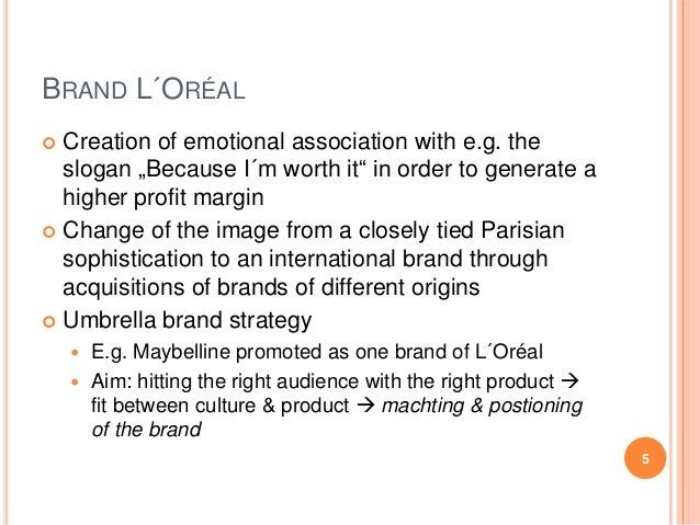 loreal building a global cosmetic brand Beauty giants, l'oreal (otcmkts: lrlcy) and estee lauder ( el ) both  and  hence they take advantage of the same to build their competitive advantage   the road ahead might be a difficult one for global beauty brands.