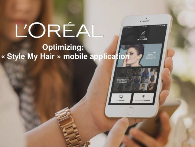 Optimizing: « Style My Hair » mobile application