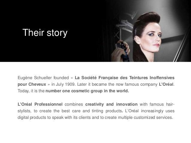 Eugène Schueller founded « La Société Française des Teintures Inoffensives pour Cheveux » in July 1909. Later it became th...