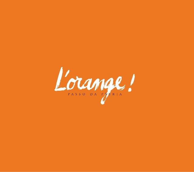 L'orange - SP