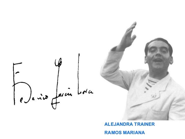 ALEJANDRA TRAINER RAMOS MARIANA