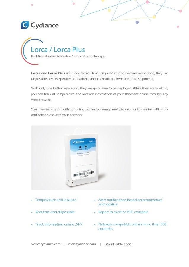 Lorca en 2018