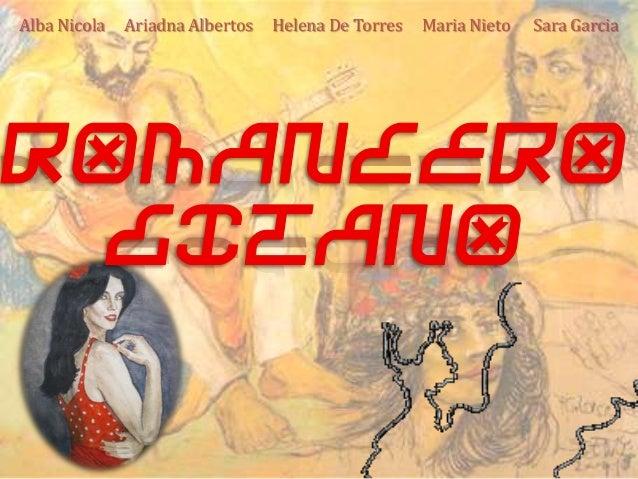 Alba Nicola Ariadna Albertos Helena De Torres Maria Nieto Sara Garcia