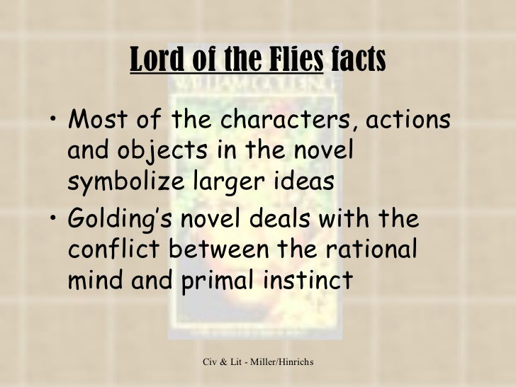 flaws of human nature in goldings lord of the flies As exposed in william golding's lord of the flies people who have a low opinion of human nature have that opinion because they themselves have a diseased.