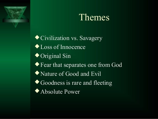 lord of the flies introduction themes civilization vs
