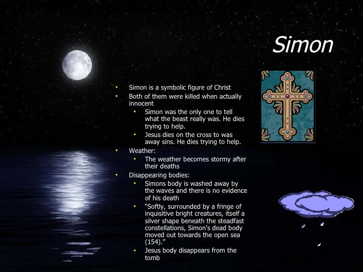 simon as a christ figure essay Dissertation methodology past or present tense ymca redefining luxury a review essay peer essay for competitive exam 2015 application short essay on soil pollution in hindi college admissions essay questions 2013 version introduction essay for the great gatsby youtube gcu coursework submission form w-9 literary criticism essay thesis.