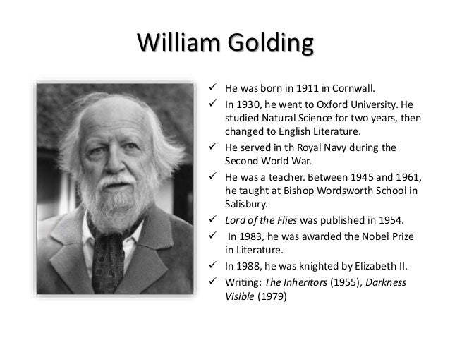 william golding View phone, address history, email, public records for the 83 people named william golding whitepages is the most trusted directory.