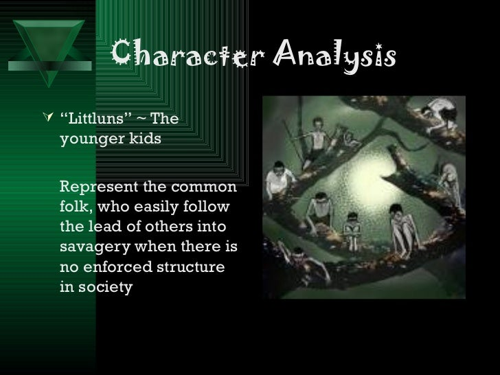 lord of the flies powerpoint character analysis