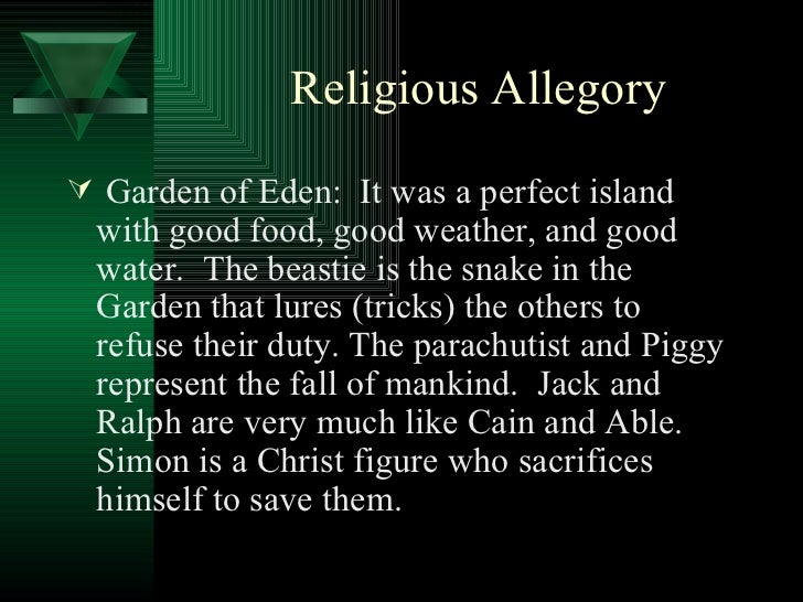 lord of the flies powerpoint  23 religious allegory
