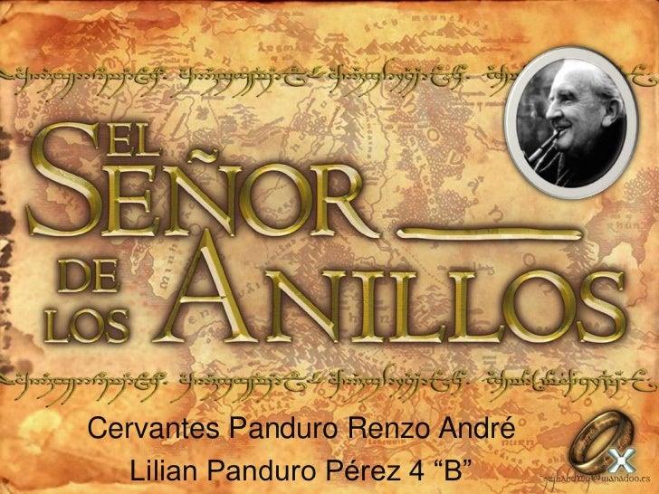 "Cervantes Panduro Renzo André<br />Lilian Panduro Pérez 4 ""B""<br />"