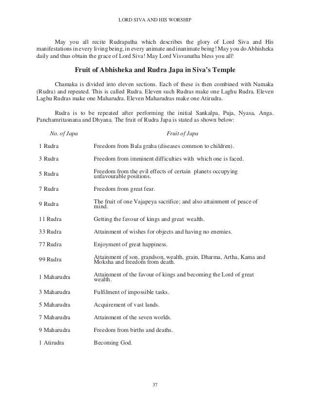 Lord shiva and his worship by Abhishek Jaguessar