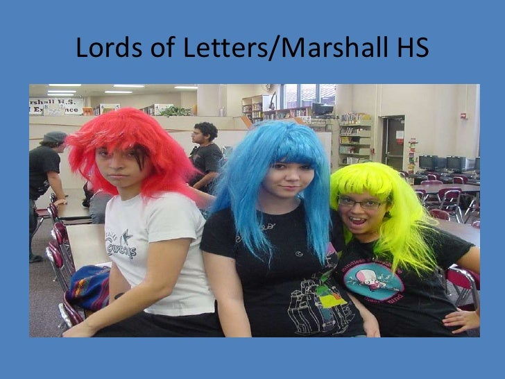 Lords of Letters/Marshall HS