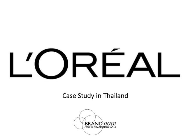 case study on loreal Brandstorm 2016 case study mission la roche-posay's among the l'oreal group's brands case study help the brand on.