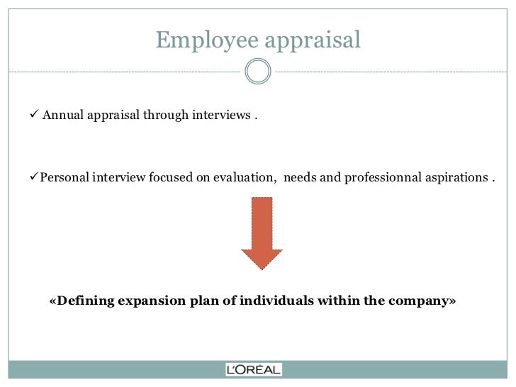 l oreal training managers to conduct performance appraisal Not in a position in your organization to have an impact on your performance appraisal system  training tips  hiring best practices  those managers can .