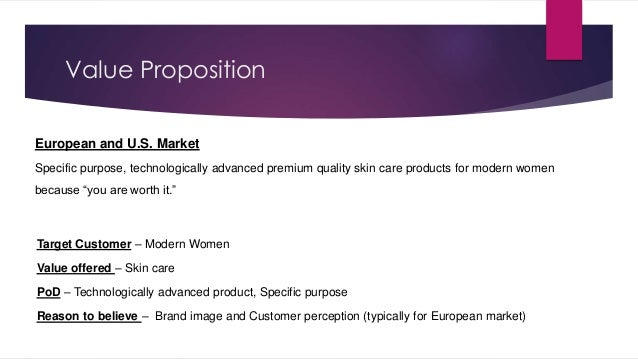 loreal mission and vision statement