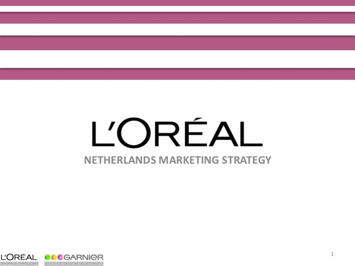 NETHERLANDS MARKETING STRATEGY                                      1