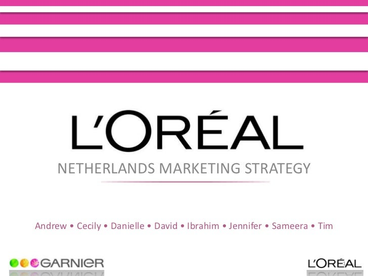 loreal marketing mix