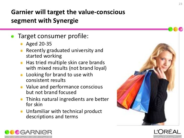 garnier segmentation Geographic segmentation is a marketing strategy, whereby, prospective buyers are divided on the basis of geographic units, like cities, states, and countries.