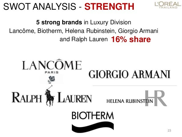 ralph lauren swot analysis Our swot analysis indicates that ralph lauren is strategically positioned for success because of its previous success with e-commerce, customer and.