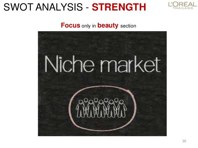 swot analysis loreal elvive Answer to analyze l'oreal's supply chain design and strategy – strengths,  weaknesses, current challenges, etc i how do they do.