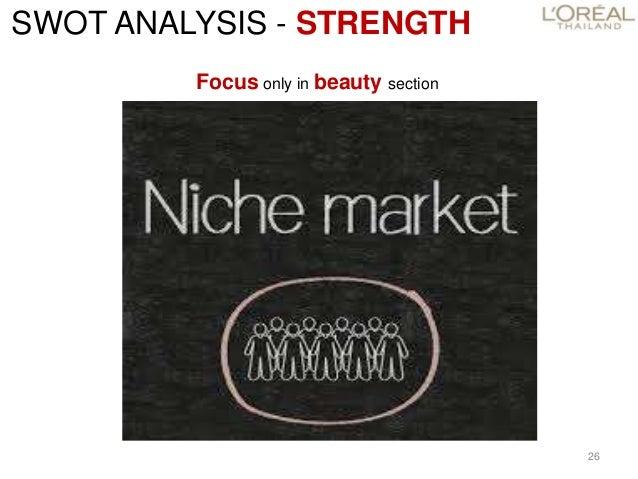 lancome swot analysis 6 févr 2013  en effet beaucoup accuse lancôme et le groupe l'oréal  swot forces : la  notoriété d'une grande marque (1935) le soutien d'un groupe.