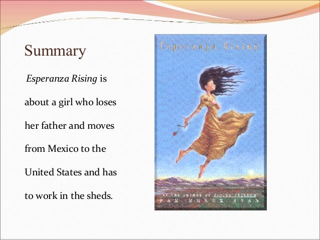 esperanza rising short essay Term papers for free esperanza rising essay parts of an essay outline models for writers short essays for composition ebook.