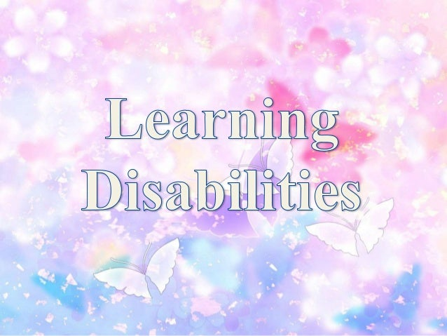 The different types of learning disabilities are: Dyslexia – reading Dysgraphia – writing Visual agnosia – sight Motor aph...