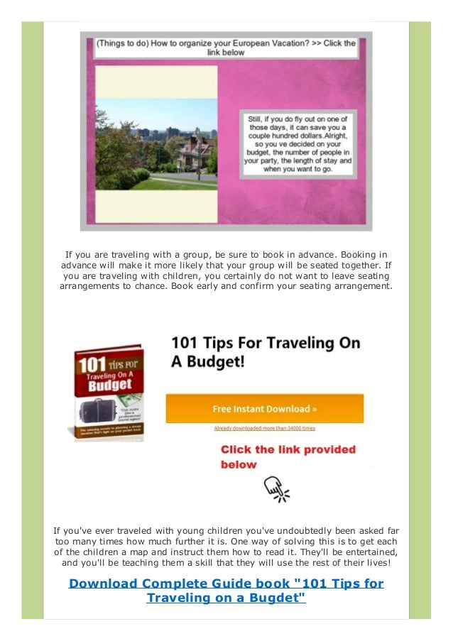 Cheap Florida Vacations How To Organize Your European Vacation - Cheap european vacation