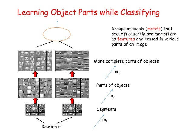 Learning Object Parts while Classifying Groups of pixels (motifs) that occur frequently are memorized as features and reus...