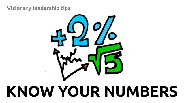 10 Visionary leadership tips KNOW YOUR NUMBERS