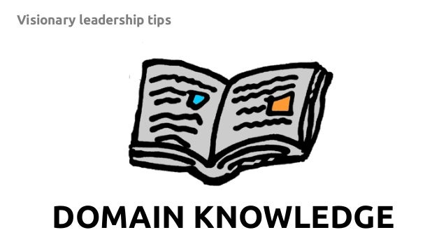 9 Visionary leadership tips DOMAIN KNOWLEDGE