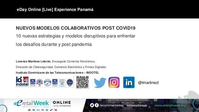 NUEVOS MODELOS COLABORATIVOS POST COVID19 10 nuevas estrategias y modelos disruptivos para enfrentar los desafíos durante ...
