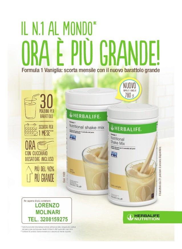 Formula 1 Herbalife - Prodotti Herbalife Italia