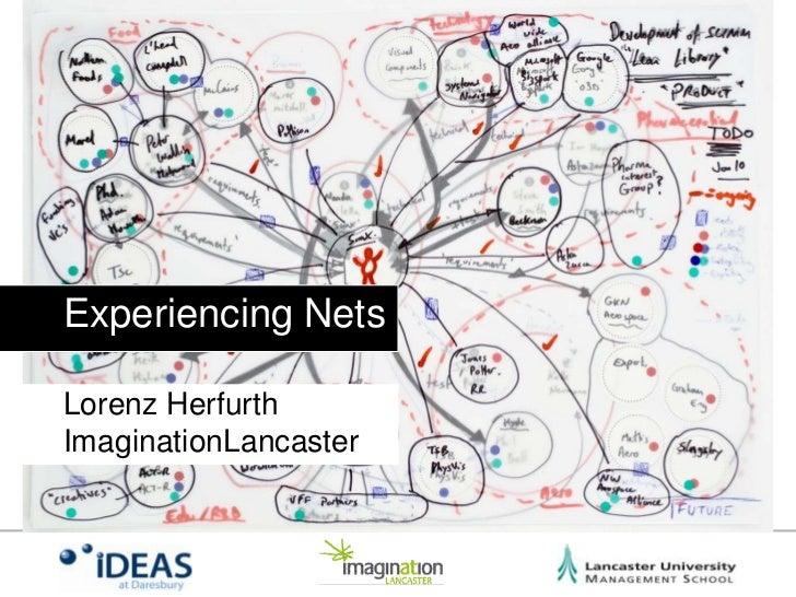 Experiencing NetsLorenz HerfurthImaginationLancaster<br />